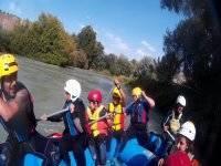 Condivisione della zattera di rafting