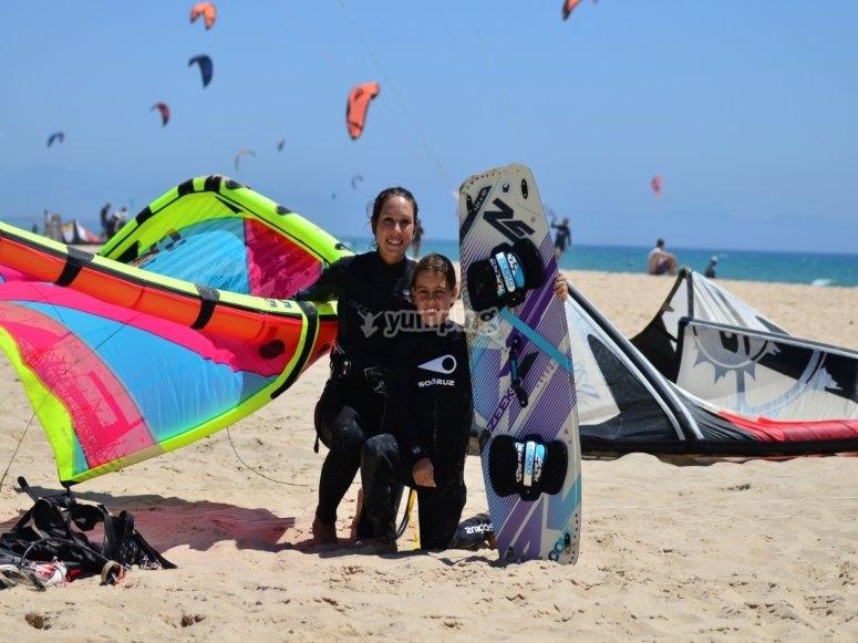 Para todas las edades kitesurf