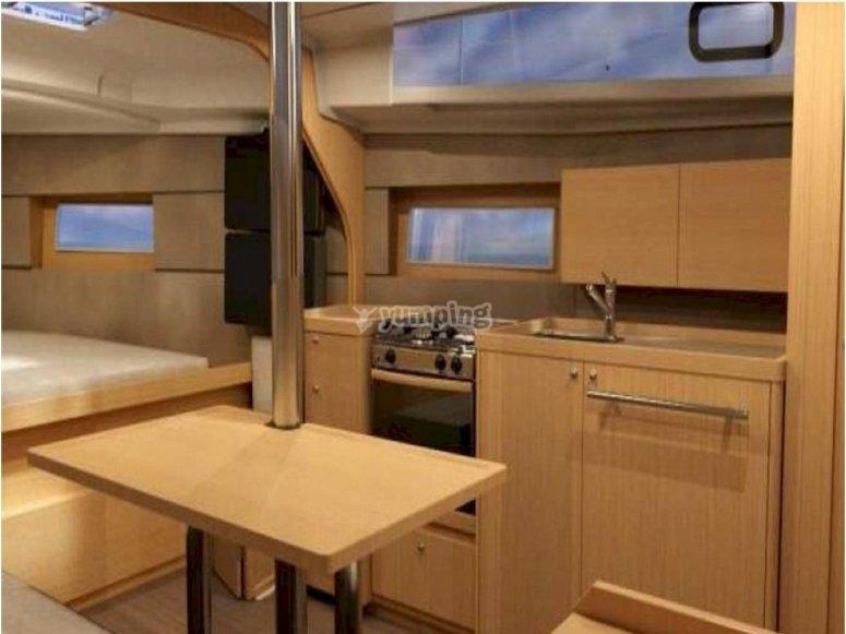 Kitchen cruise ship