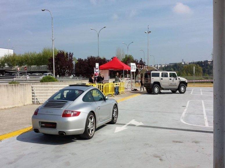 Porsche 911 parked