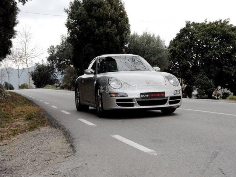 Porsche 911 on road