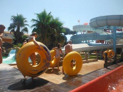 梅诺卡岛的水上公园,儿童节
