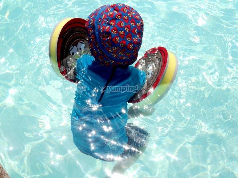 Bevande in piscina