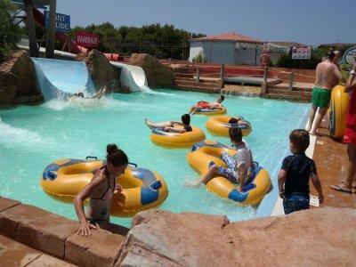 Parque acuático en Menorca por dos días para niños