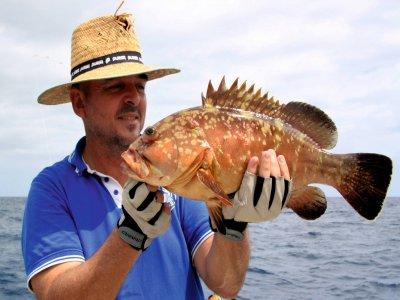Pesca in barca di mezza giornata a Fuerteventura