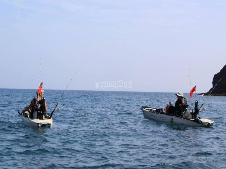 Andiamo nell'area di pesca