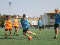 学习不同的足球技术