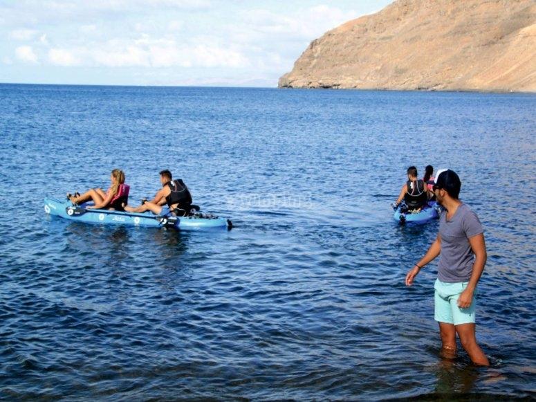 Empieza la aventura en kayak