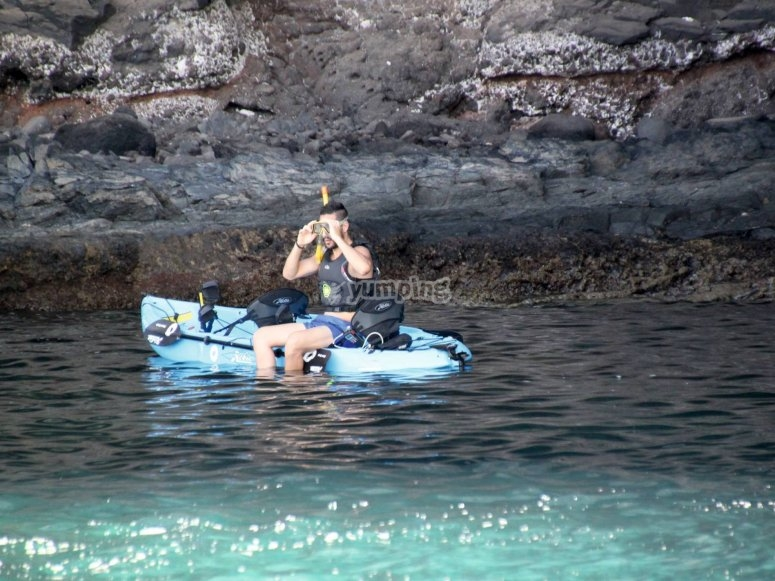 Listos para el snorkelling