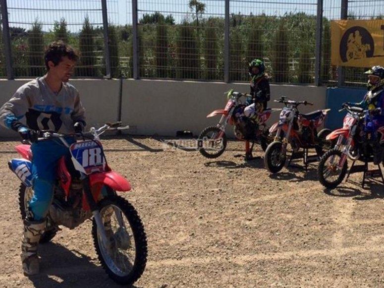Nico Terol的摩托车练习