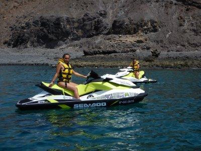 Excursión en moto de agua en Fuerteventura 1 hora
