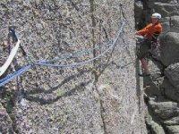 En deportes de montaña la seguridad es lo primero.
