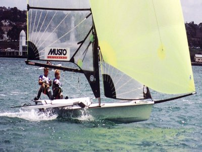 1h dinghy sailing in Gran Tarajal