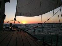 Preciosas vistas desde el barco