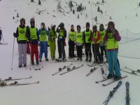 grupo de esqui