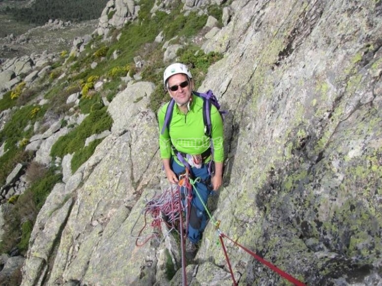 arrampicata su becerril de la sierra
