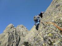arrampicata su becerril