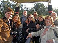 1 hour hot air balloon flight for groups