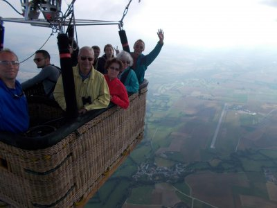 Shared Balloon Ride in Montserrat + Lunch