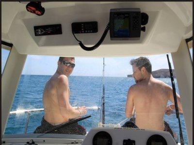 Alquiler de barco para 8 personas en Fuerteventura