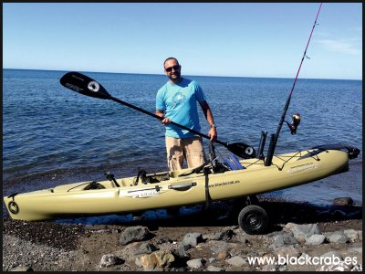Alquiler de kayak jornada completa en Gran Tarajal