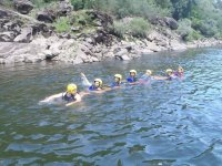 Group dynamics in the water
