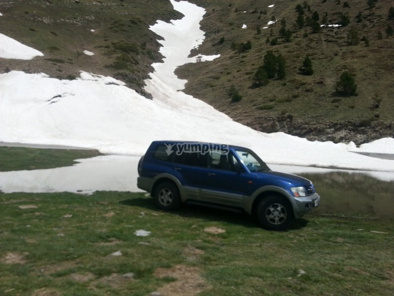 On the route with a 4x4
