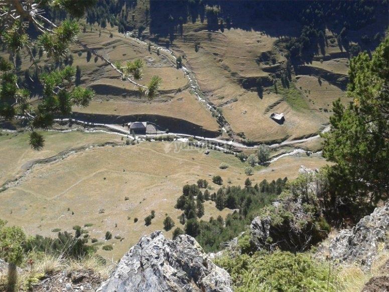 Through Andorra by an all-terrain