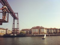 Ponte sospeso di Bilbao