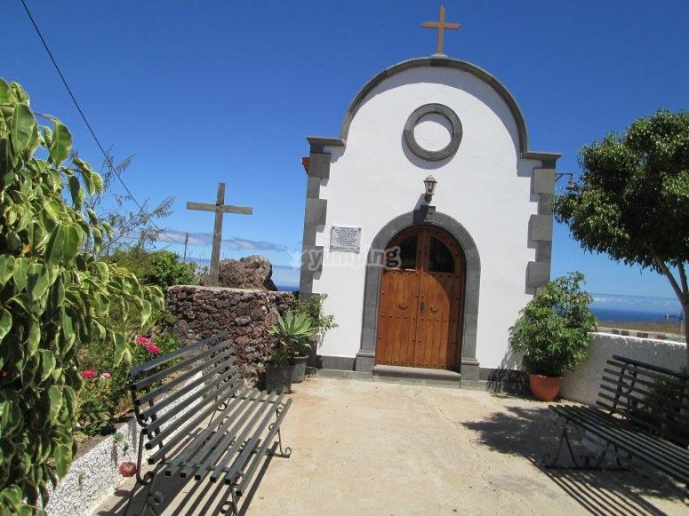 Ermita en el Camino Real