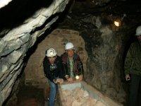 Como auténticos mineros