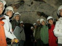Visitando la mina abandonada