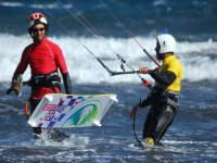 Initiation to kitesurfing