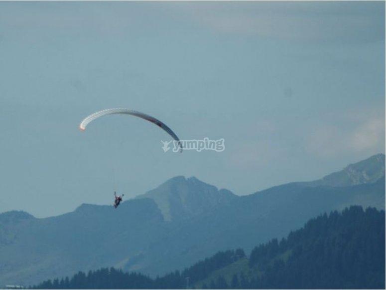 Volar con instructor con experiencia