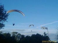 Varios voladores juntos
