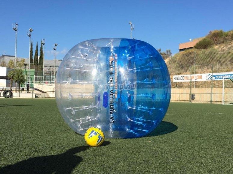 La burbuja y el balón
