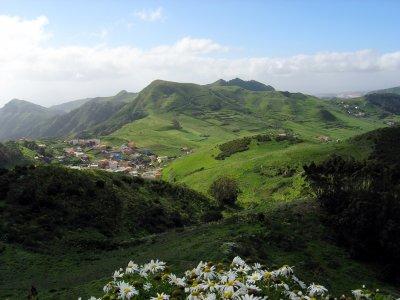 Trekking route on Pedro Gil Dorsal, Tenerife, 3h