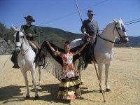 Espectaculos de sevillanas a caballo