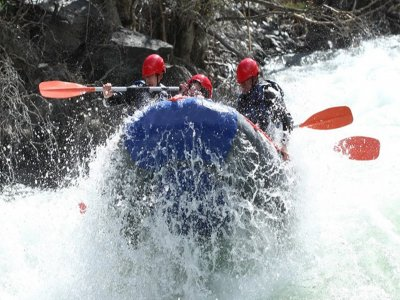 Rafting in acque bianche Noguera Pallares Livello III-IV