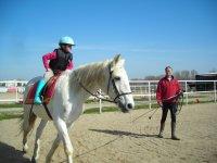 Avanzando en la monta a caballo