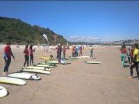 Curso de perfeccionamiento de surf