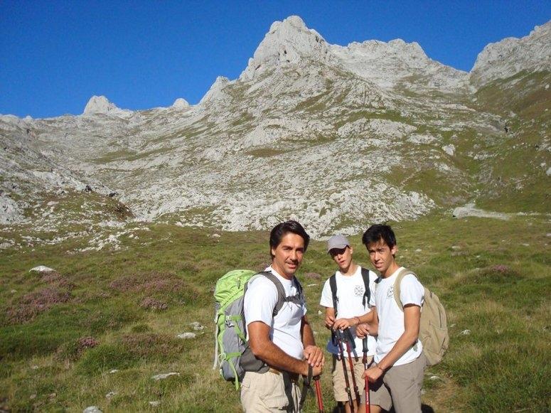 Excursion de montana en Asturias