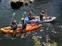 Canoe con Sierra Luna