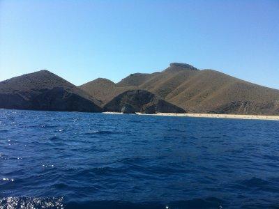 Excursión en barco de Carboneras a Isla San Andrés