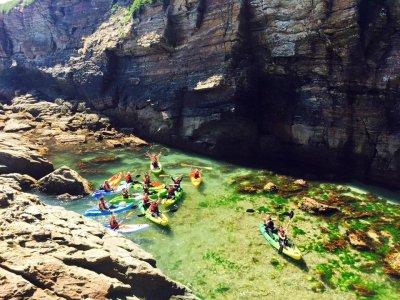 Ruta en Kayak por las playas de Foz 2 horas