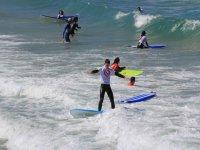 在Foz和Barreiros上冲浪课程5天
