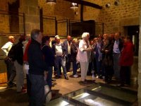 Guided tour of a winery