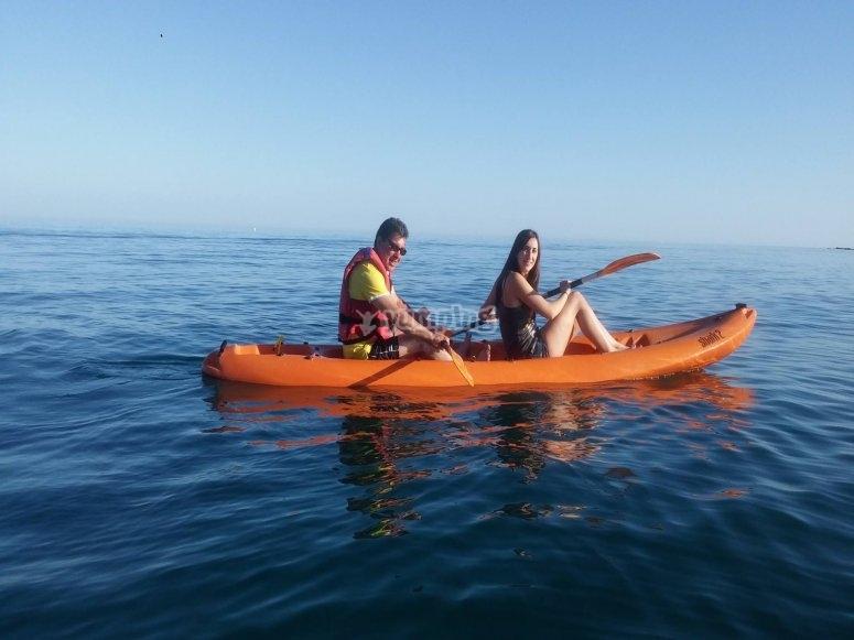 皮划艇两人