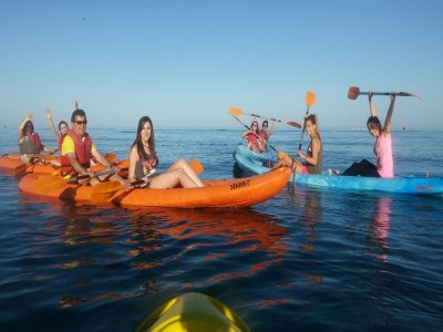 Kayak and Zip-Line 6 People Fuengirola, 3 hours