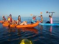 Tirolina y kayak en Fuengirola para 6 personas 3h